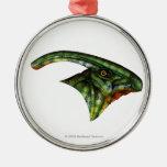 Hadrosaur Premium Round Ornament