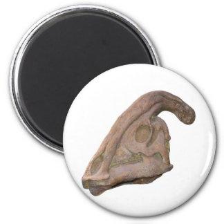 Hadrosaur Skull Fridge Magnets