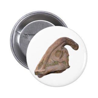 Hadrosaur Skull Pin