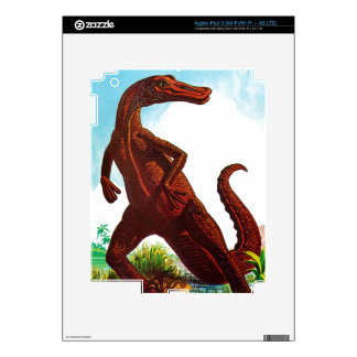 Hadrosaurus Dinosaur iPad 3 Decal