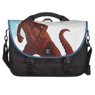 Hadrosaurus Dinosaur Laptop Bags