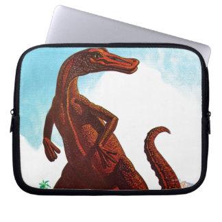 Hadrosaurus Dinosaur Laptop Sleeves