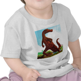 Hadrosaurus Dinosaur Tee Shirts