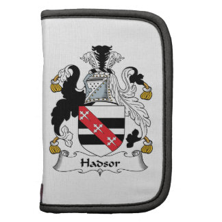 Hadsor Family Crest Organizers