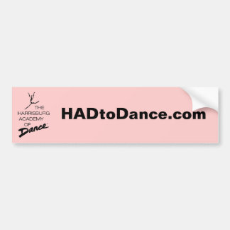 HADtoDance.com Bumper Sticker