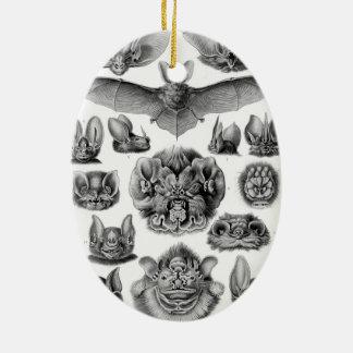 Haeckel Chiroptera Christmas Ornaments