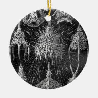 Haeckel Cyrtoidea Christmas Tree Ornament
