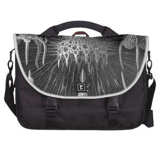 Haeckel Cyrtoidea Laptop Messenger Bag