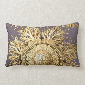 Haeckel Discomedusae Lumbar Pillow