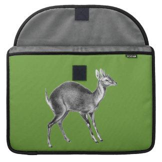 Haeckel Four Horned Deer Sleeve For MacBook Pro