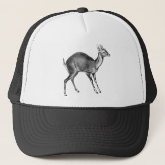 Haeckel Four Horned Deer Trucker Hat