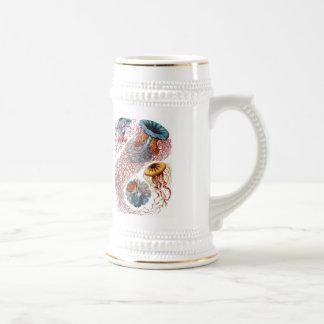 Haeckel Jellyfish Beer Stein