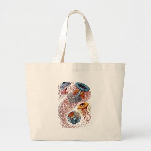 Haeckel Jellyfish Jumbo Tote Bag