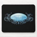 Haeckel Jellyfish Mousepads