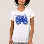 Haeckel Octopus Blue Tank Top