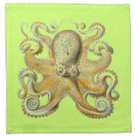 Haeckel Octopus Cloth Napkin