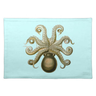 Haeckel Octopus Cloth Placemat