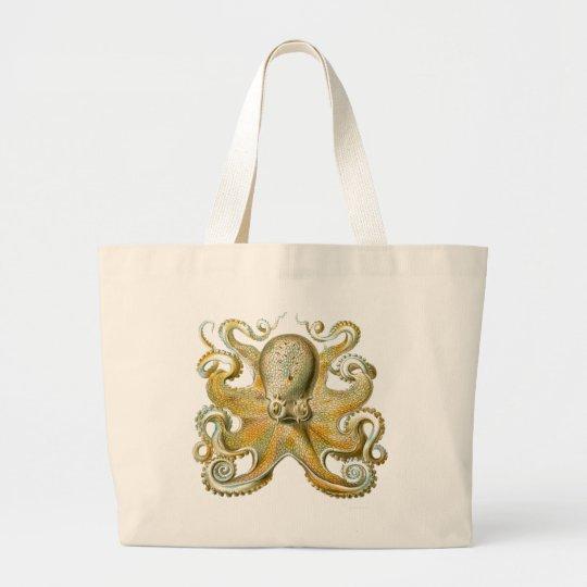 Haeckel Octopus Large Tote Bag