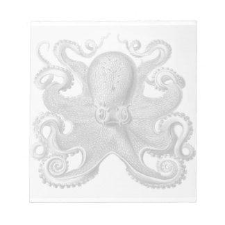 Haeckel Octopus Notepad