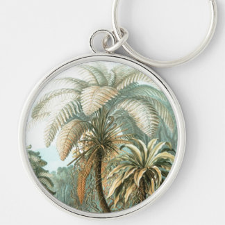 Haeckel Palm Tree Keychain