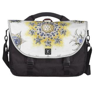 Haeckel Polycyttaria Laptop Messenger Bag