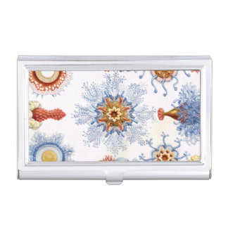 Haeckel Siphonophorae Business Card Case