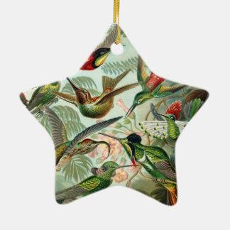 Haeckel Trochilidae Christmas Ornaments
