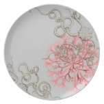Haeckel - vintage nature dinner plates