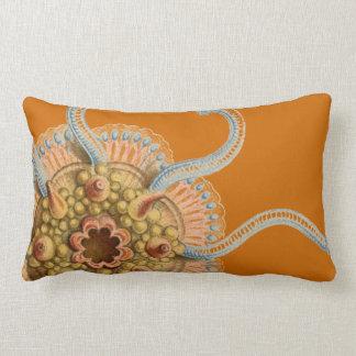 Haeckel vintage sealife lumbar pillow