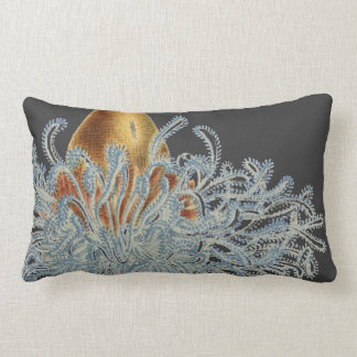 Haeckel vintage sealife throw pillow