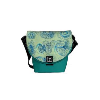 Haeckel's Leptomedusae Messenger Bag