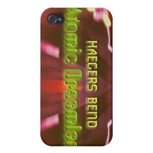 Haegers Bend Atomic Dreamland iPhone 4 Case