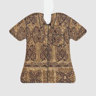 Haena Beach Hawaiian Primitive Tapa Aloha Shirt Ornament
