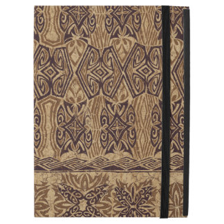 Haena Beach Hawaiian Primitive Tapa iPad Pro Case