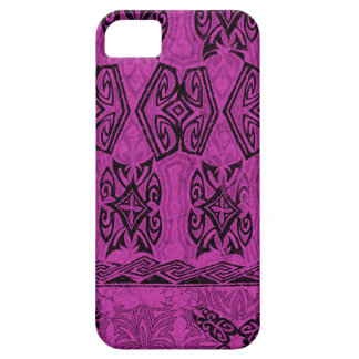 Haena Beach Hawaiian Primitive Tapa iPhone 5 Cases
