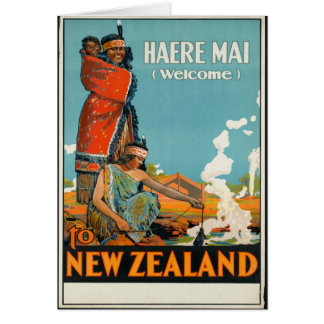 Haere Mai, Welcome to New Zealand Cards