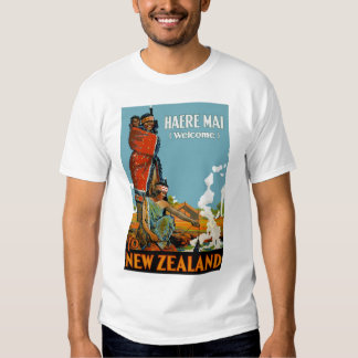 Haere Mai (Welcome) to New Zealand T-Shirt