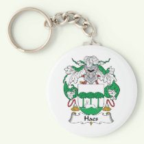 Haes Family Crest Keychain