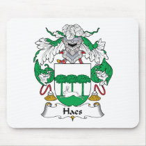 Haes Family Crest Mousepad