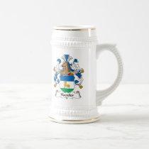 Haeseler Family Crest Mug