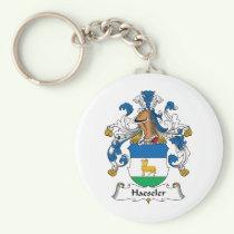 Haeseler Family Crest Keychain