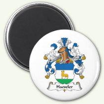 Haeseler Family Crest Magnet
