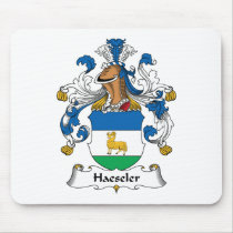 Haeseler Family Crest Mousepad