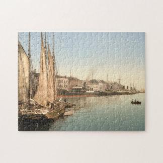 Hafenstrasse, Copenhagen, Denmark Jigsaw Puzzle