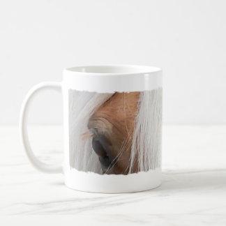 Haffie Eyes Classic White Coffee Mug