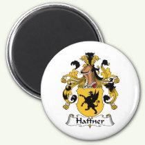Haffner Family Crest Magnet