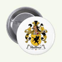 Haffner Family Crest Button