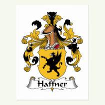 Haffner Family Crest Postcard