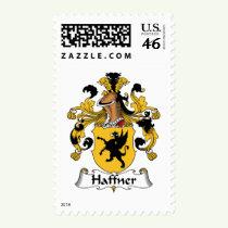 Haffner Family Crest Stamps