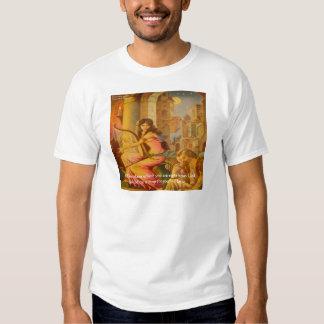 "Hafiz ""God's Circle"" Wisdom Quote T-shirt"